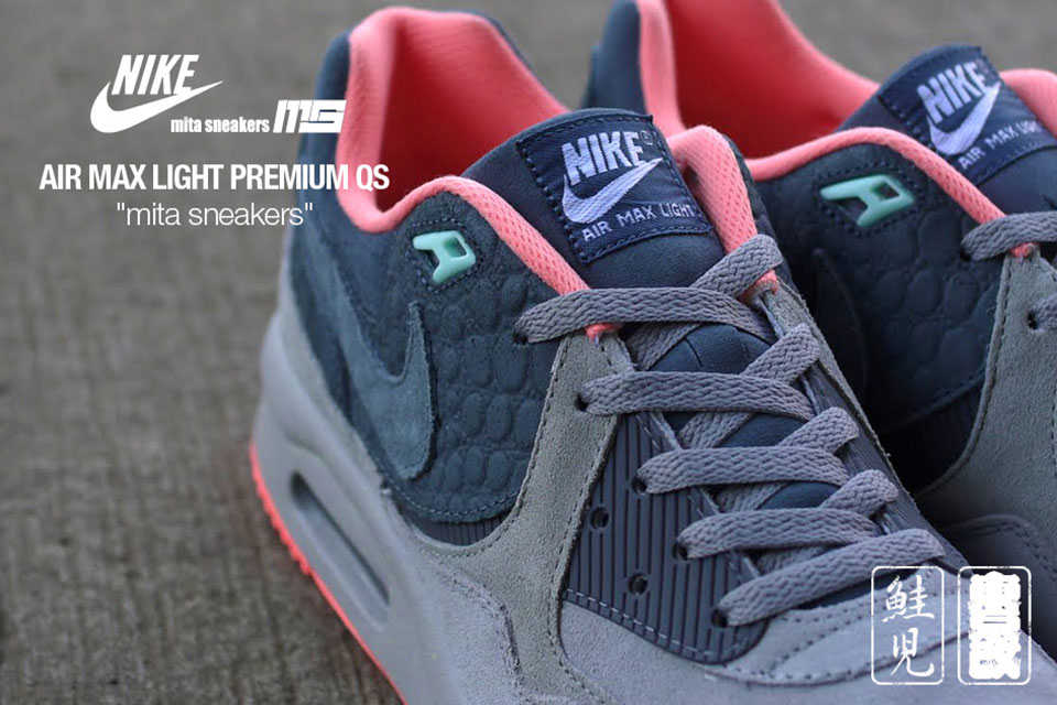 best cheap 41f74 0527f Once again, Japanese sneaker store Mita Sneakers has collaborated with Nike  to create the Nike Air Max Premium QS—a fresh look, which incorporates a ...