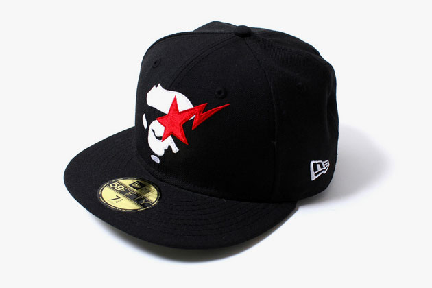 """9eecd14c1e4 The """"Ape Face Sta"""" New Era fitted is featured in Bape s Spring 2014  collection"""