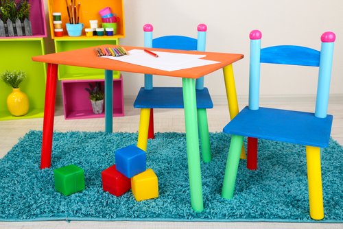 kindergarten table chairs