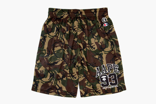 8effabf470af AAPE by A Bathing Ape x Champion Jersey Set – Product Of Society