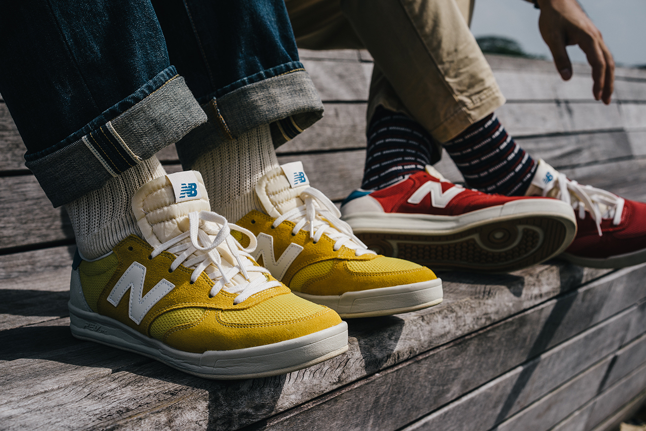 new balance 300 rouge et blanc