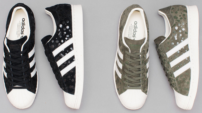 "new products c0306 a56c5 Expected to drop October 1, adidas Originals is releasing the ""Drip Dot Camo""  pack, comprised of two Gazelle and two Superstar 80s sneakers. ..."