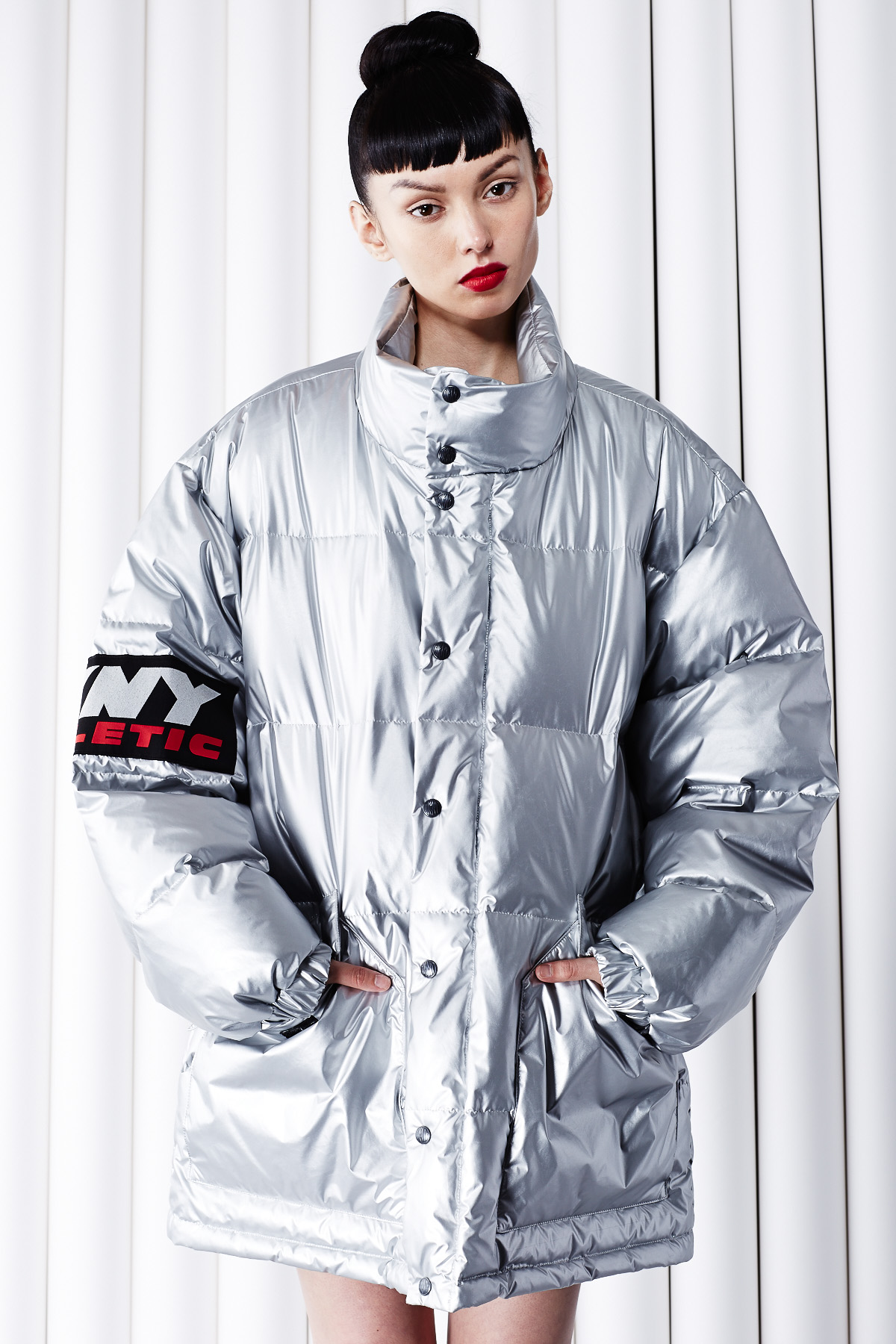 Dkny For Opening Ceremony X Athletic Puffer Jacket