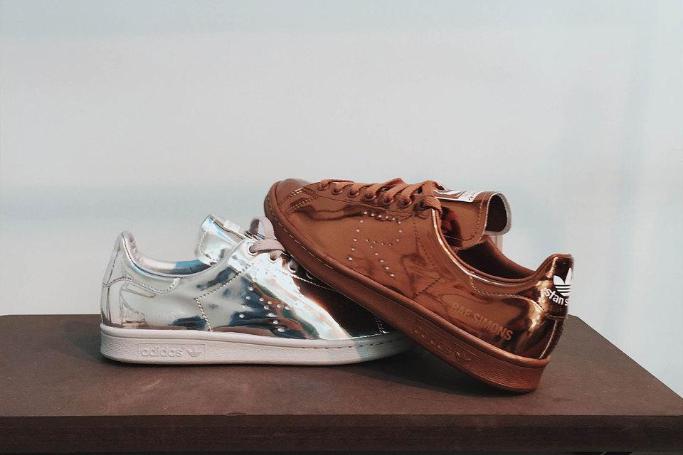 shopping adidas stan smith metallic sneakers 300b6 9317d