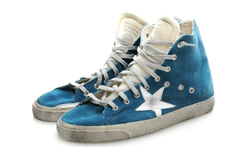 GoldenGooseHiCutFrancySneakers